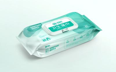 感控衛士衛生濕巾包裝設計