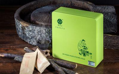 寶溪口有機綠茶包裝