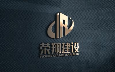 荣翔建设logo设计