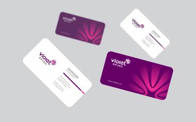 紫罗兰科技logo提案