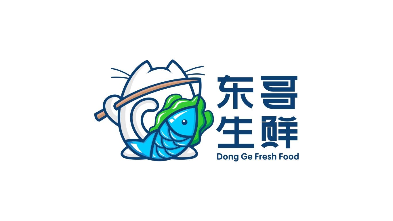 东哥生鲜品牌LOGO设计中标图6