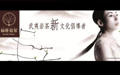 武夷山福莲岩茶包装设计