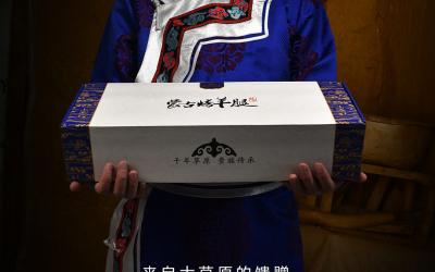 蒙古烤羊腿logo及包装设计