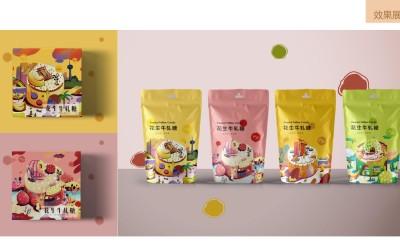 花生糖包装设计