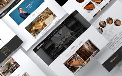 官网页面设计——歌德温