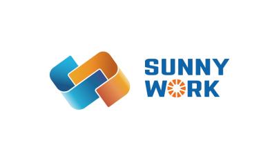 sunny work共享辦公品牌LOGO設計