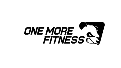 ONE MORE  FITNESS健身房LOGO設計