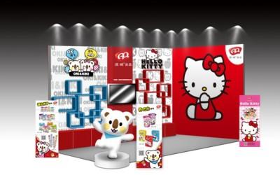 滨崎儿童食品货架堆头设计