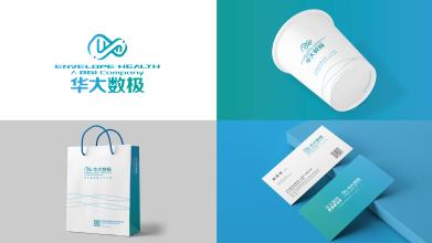 华大数极科技基因公司VI设计