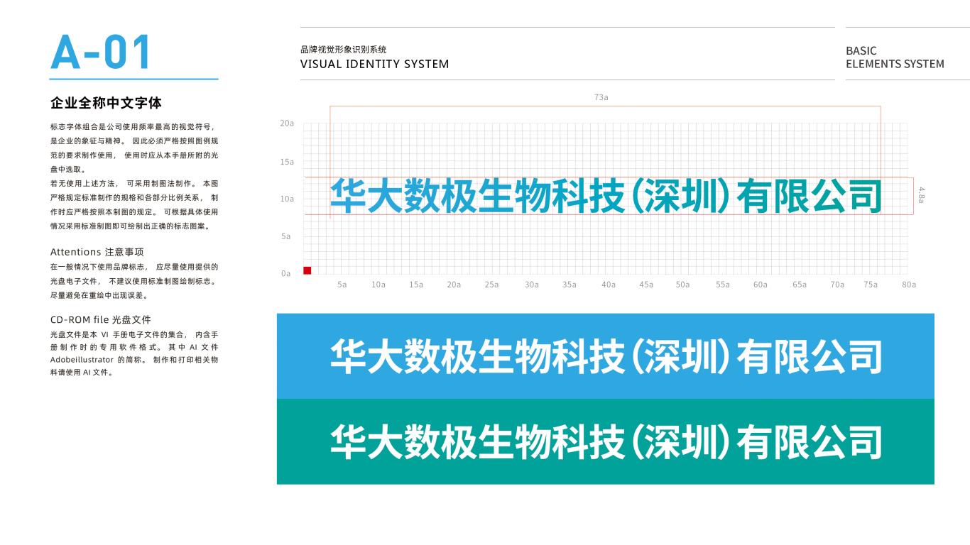 华大数极科技基因公司VI设计中标图3