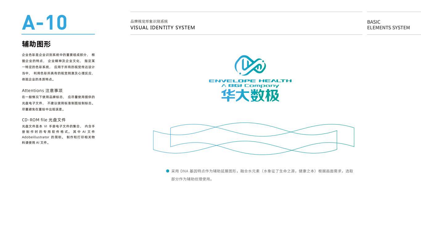 华大数极科技基因公司VI设计中标图12