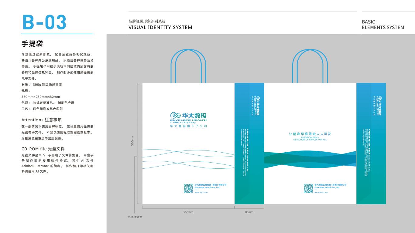 华大数极科技基因公司VI设计中标图19