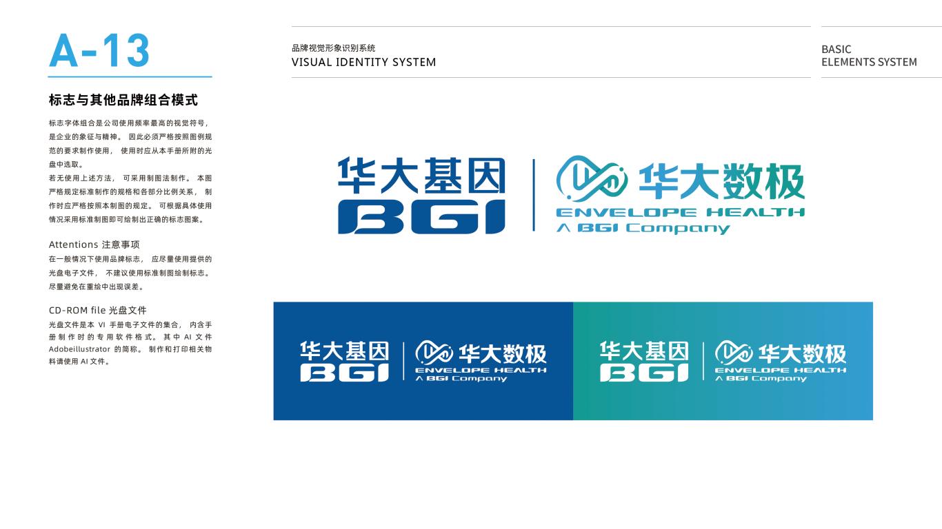 华大数极科技基因公司VI设计中标图15