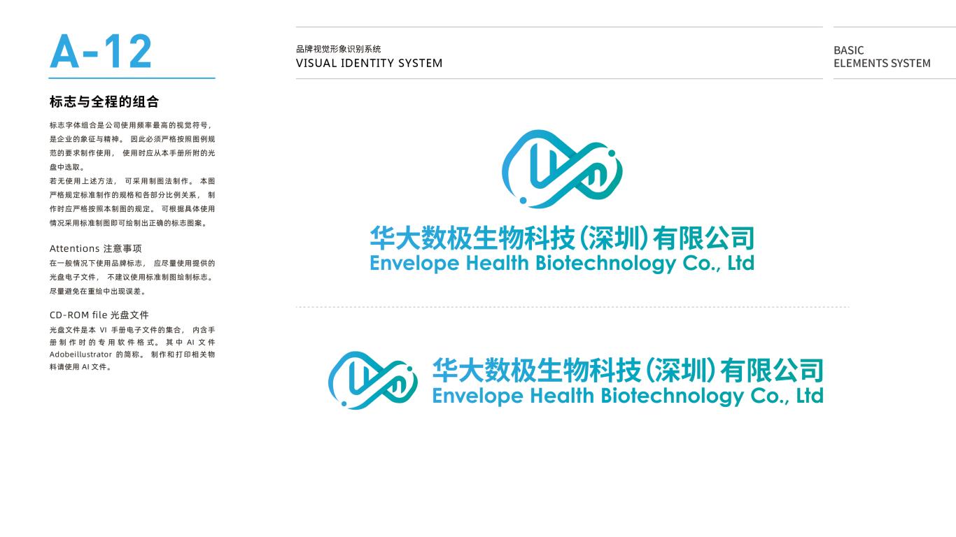 华大数极科技基因公司VI设计中标图14