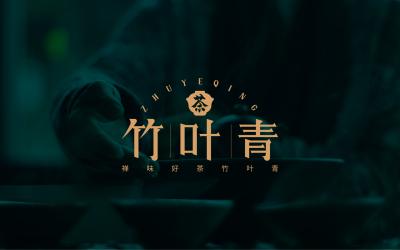 竹葉青茶葉LOGO設計