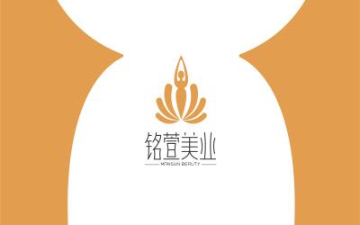 銘萱美業品牌設計