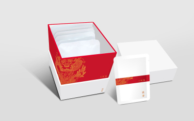 唐会会所标志设计及茶叶包装设计
