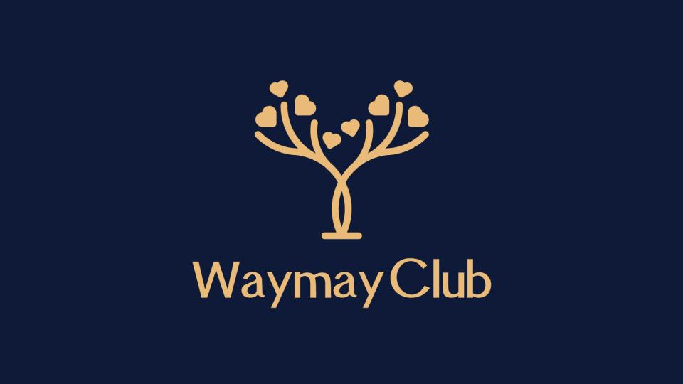 WaymayClub清酒吧、咖啡店LOGO設計