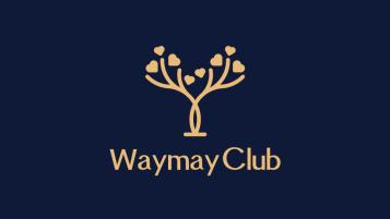 WaymayClub清酒吧、咖啡店LOGO设计