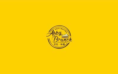 艾比布朗早午餐logo設計