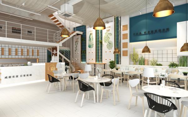 【東營商業空間設計】咸甜網紅餐廳工裝設計_星狼設計