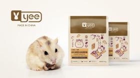 yee五谷侏儒鼠糧品牌包裝設計