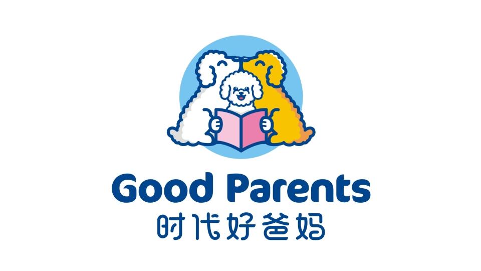時代好爸媽品牌LOGO設計