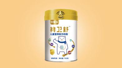 贝赋乐配方奶粉品牌包装设计