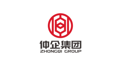 上海仲企集團有限公司LOGO設計
