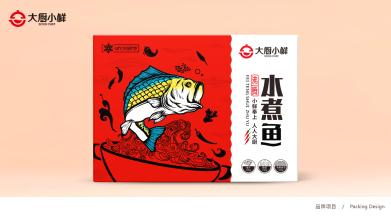 大厨小鲜酸菜鱼品牌包装延展