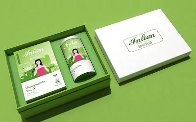 《頤戀花語》-花茶-包裝設計