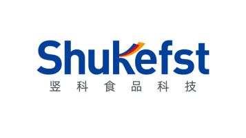 豎科Shukefst食品科技公司LOGO設計