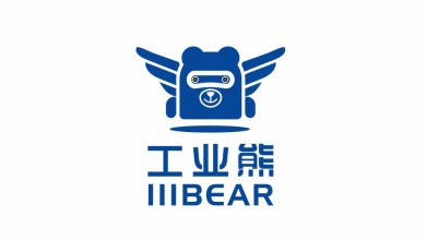 工業熊品牌LOGO設計