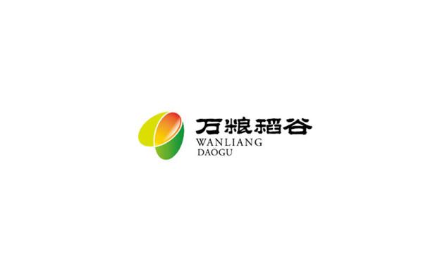 東營logo設計企業標志設計 萬糧稻谷標志設計