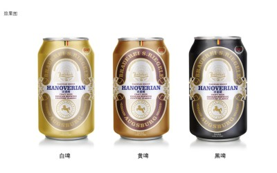 勞特巴赫啤酒包裝設計