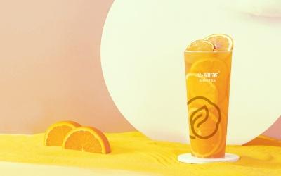 心研茶饮品品牌设计