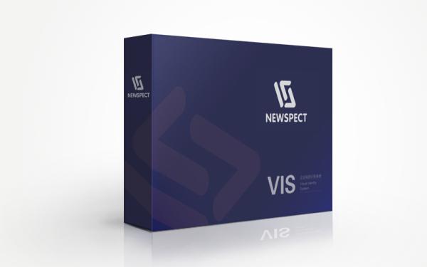 東營VI設計企業視覺設計 Newspect留學教育VI設計