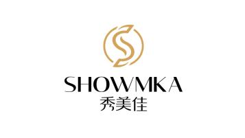 秀美佳SHOWMKA美发电器品牌LOGO设计