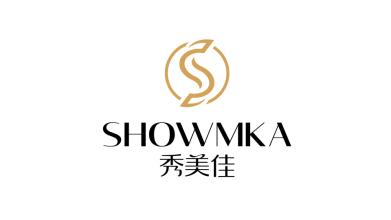 秀美佳SHOWMKA美發電器品牌LOGO設計