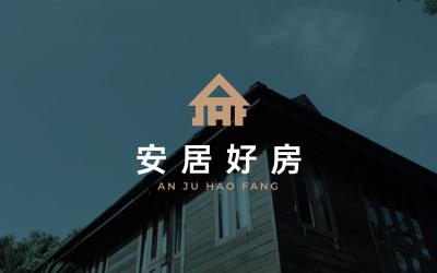 房屋中介類logo設計