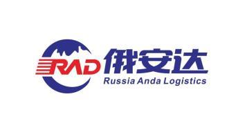 俄安达国际物流品牌LOGO设计