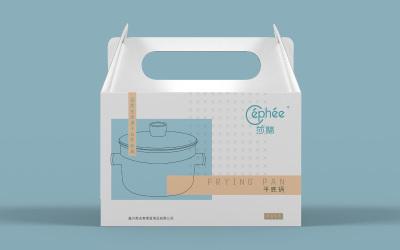 莎翡平地锅包装设计