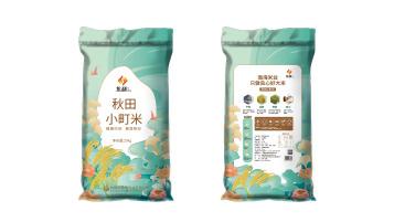 集利秋田小町米包装必赢体育官方app