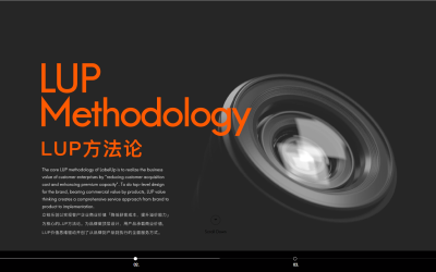 LabelUP官网UI设计品牌...