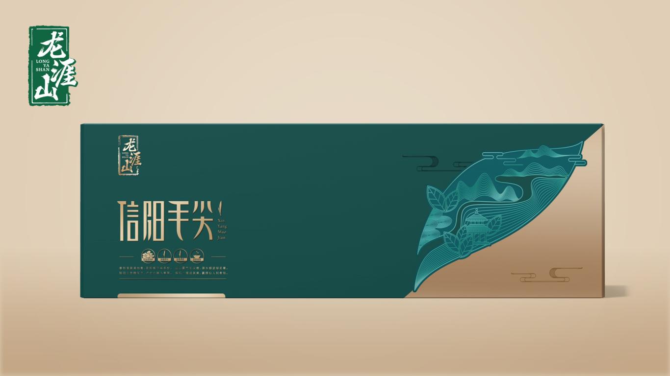 龙涯山礼品茶包装设计中标图3