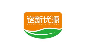 銘新優源食品品牌LOGO設計