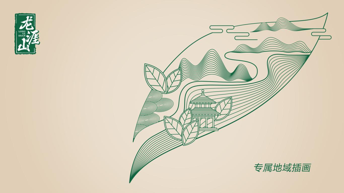 龙涯山礼品茶包装设计中标图2