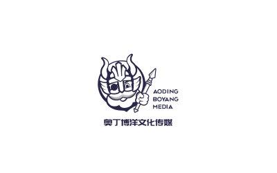 奧丁博洋傳媒文化公司logo設...