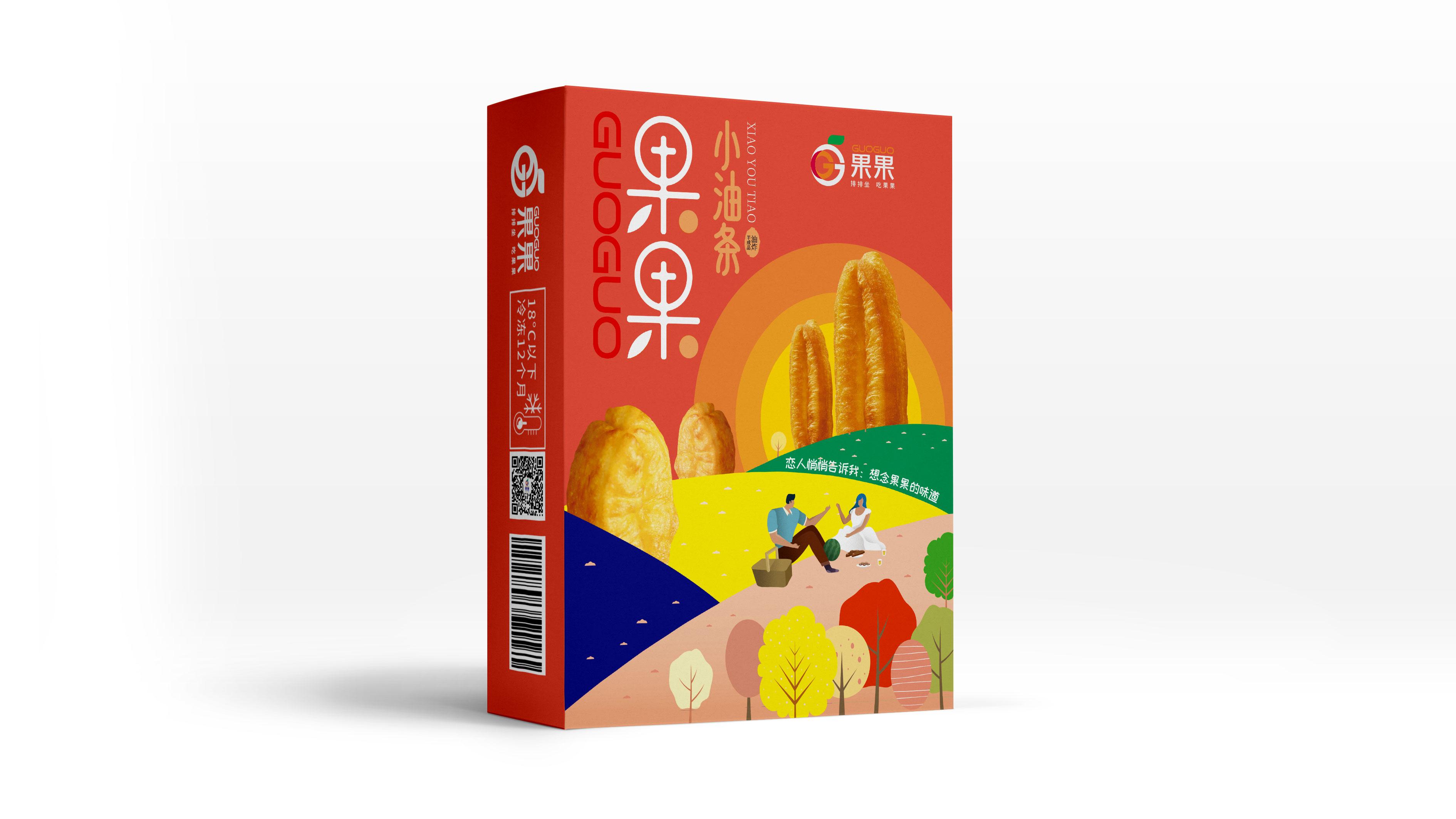 果果小油条品牌包装设计