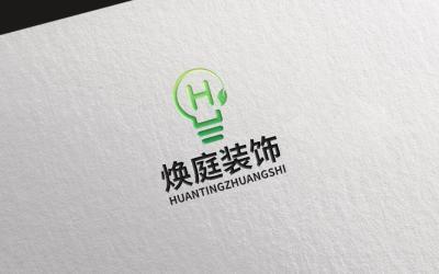 焕庭装饰logo